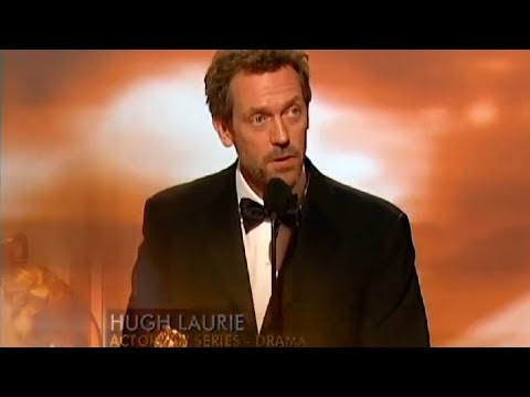 Речь Хью Лори на вручении ему Золотого Глобуса (Доктор Хаус).  Рус