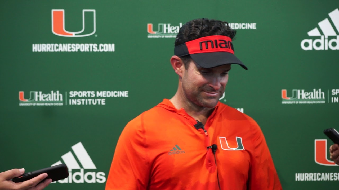 Source on Tate Martell: 'He's good;' Manny Diaz said all three Miami QBs 'took it very well' after Jarren Williams was ...