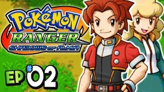 Pokemon Ranger Shadows of Almia Part 2 PARTNER POKEMON! Gameplay Walkthrough