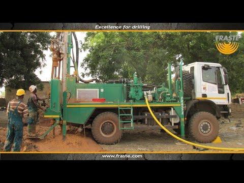 Drilling machine Fraste ML 150 Drilling rig in Burkina Faso