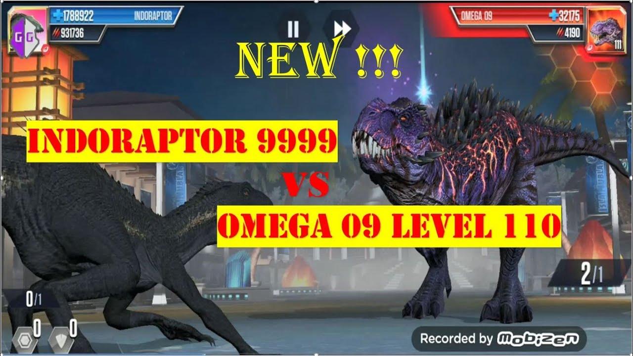 jurassic world the game  indoraptor 9999 vs omega 09