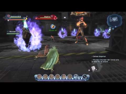 DC Universe Online: Defeating Giganta and Saving Wonder Girl
