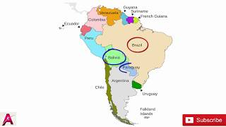 Learn South American Countries by a TRICK Memorize the American South Countries in under 4 minutes