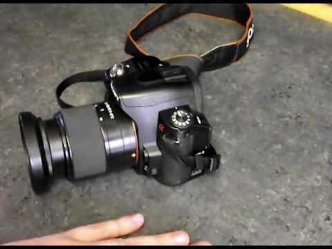 How To Clean The Sensor on a DSLR Camera (Sony alpha A390)