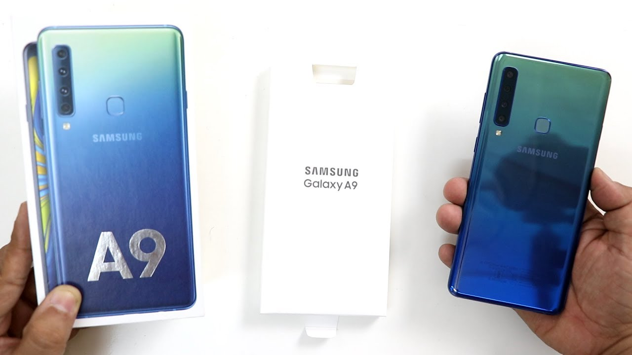 Samsung Galaxy A9(2018) Unboxing And Review I Hindi