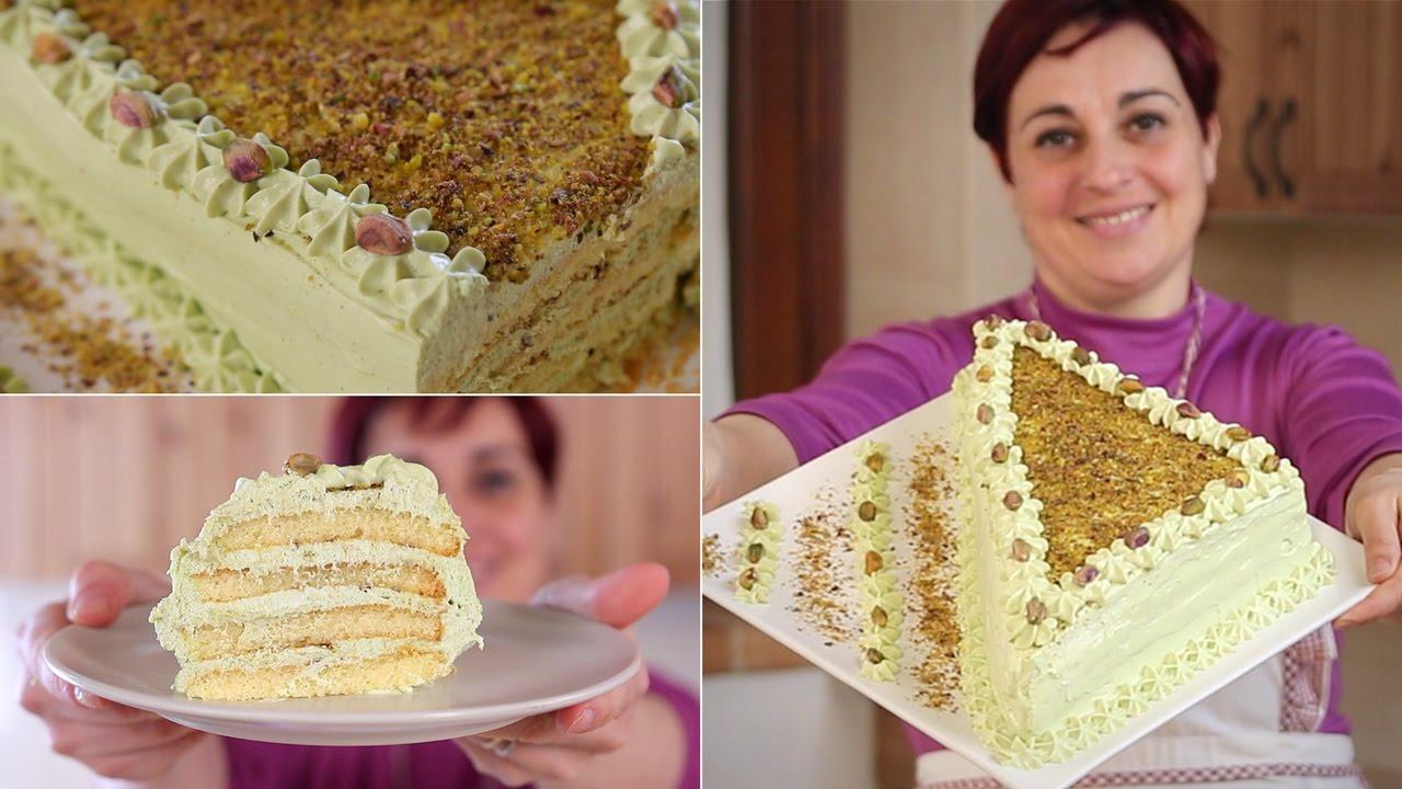 Torta furba al pistacchio ricetta facile pistachio cake easy recipe youtube - Festoni compleanno fatti in casa ...