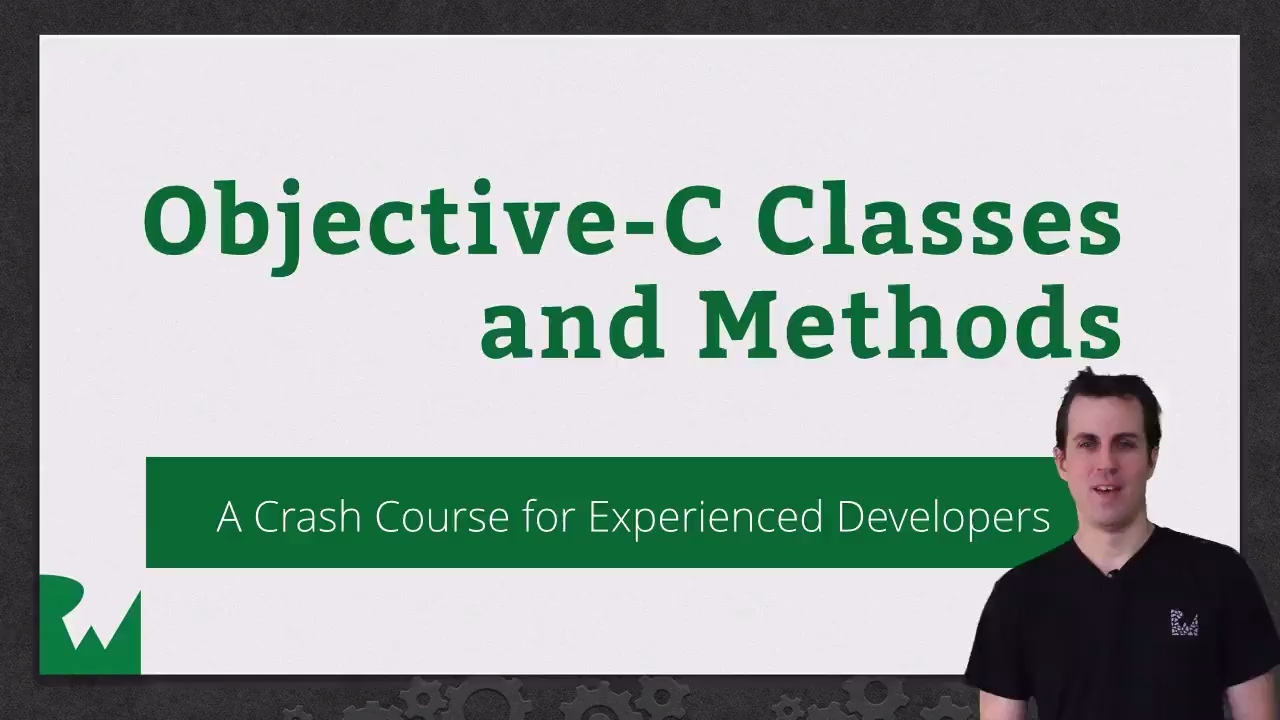 Beginning Objective-C Classes and Methods
