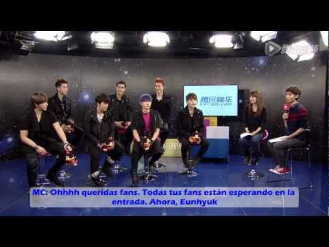 [SUB ESP] 130109 Super Junior-M Tencent QQ Parte 1