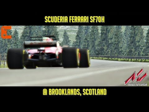 Assetto Corsa] What happens if a F1 runs on a road
