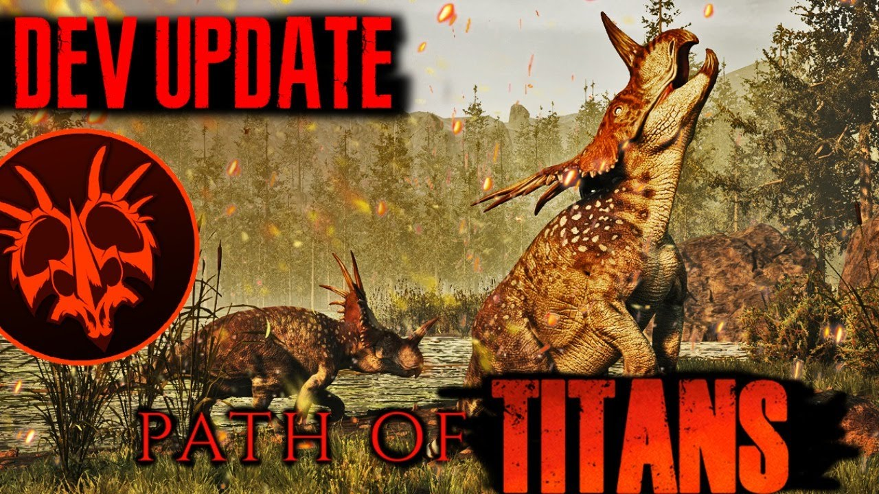 Path of Titans News Update! - Developer Question and Answer - Full Map and Styracosaurus