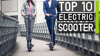 Top 10 Best Portable Electric Scooters for Everyday Traveling