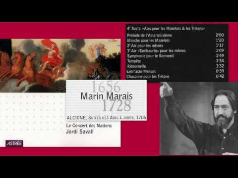 Marin Marais - Alcione, Quatrième suite: Airs pour les Matelots et les Tritons