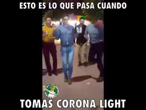 Esto es lo que pasa cuando tomas CORONA LIGHT - YouTube