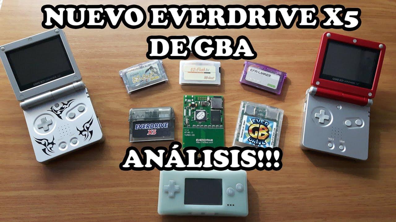 Game boy color everdrive - Everdrive X5 De Game Boy Advance El Nuevo Flashcart De Krikzz Review Y An Lisis