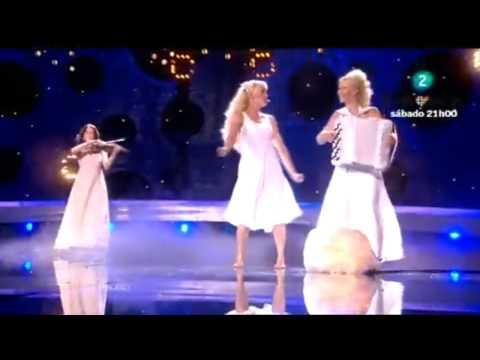 Eurovision Song Contest  2010  - Finland - Kuunkuiskaajat - Tyolki Ellaa - Karaoke