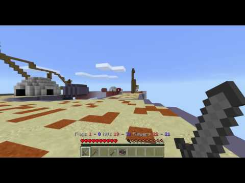 Minecraft Capture the Flag 3: Building a huge defensive wall
