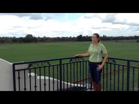 Santa Clara Polo Club in Wellington Florida Stable tour with Susan Wachowich