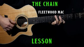 "how to play ""The Chain"" on acoustic guitar by Fleetwood Mac 