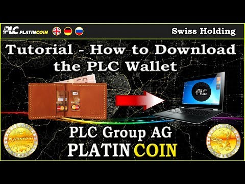 Tutorial - How to Download the PLC Wallet PlatinCoin PLC Group AG
