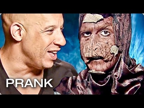 GUARDIANS OF THE GALAXY Interview PRANK