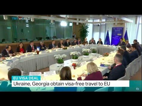 EU Visa Deal: Ukraine, Georgia obtain visa-free travel to EU