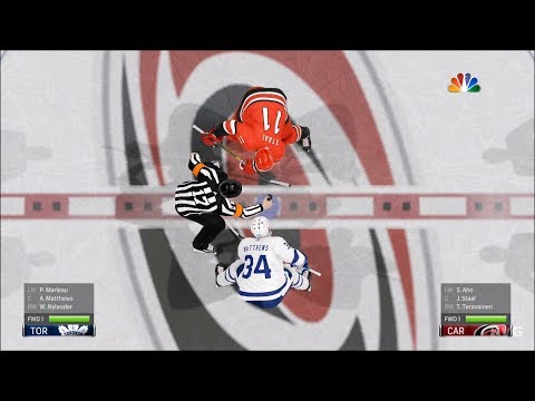 NHL 19 - Carolina Hurricanes vs Toronto Maple Leafs - Gameplay (HD) [1080p60FPS]