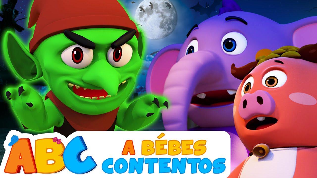 A Bebés Contentos 5 Esqueletos Salieron Una Noche Canción De Miedo Para Niños Youtube