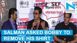 When Salman Khan asked Bobby Deol, 'Shirt Utarega Kya?'