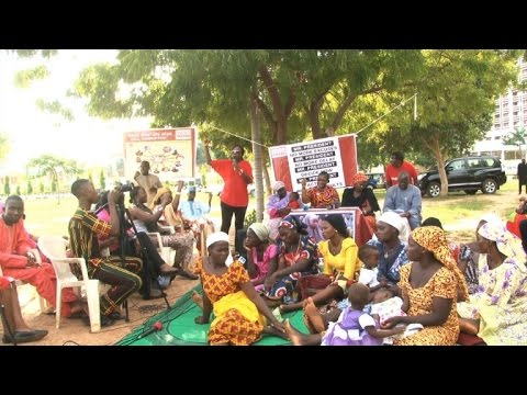 Chibok protest in Abuja on 900-day anniversary of kidnapping