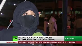 Violent clashes Monday in Ferguson as National Guard deployed