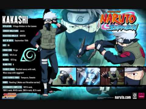Naruto Shippuden Characters Bio Bio Characters Naruto ...