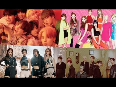 BTS, TWICE, BLACKPINK, MONSTA X, And More Achieve High Rankings On Billboard's World Albums Chart