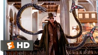 Spider-Man 2 - Bank Fight Scene (2/10) | Movieclips