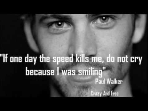 PAUL WALKER DEDICATION SONG