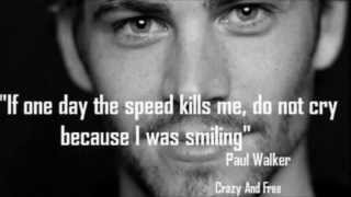 "PAUL WALKER DEDICATION SONG ""WALK WITH ME"" R.I.P."