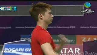 Download Video SADIS KEVIN & MARCUS VS China Taipe | Semi Final Badminton Asian Games 2018 MP3 3GP MP4