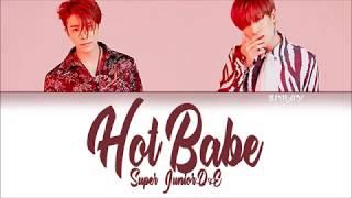 Super Junior D&E - Hot Babe (Kan/Rom/Eng) Color Coded Lyrics