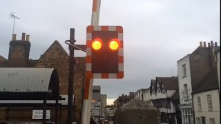 St. Dunstans Level Crossing, Canterbury West (Featuring An Ambulance and a Hangman)  30/12/2015