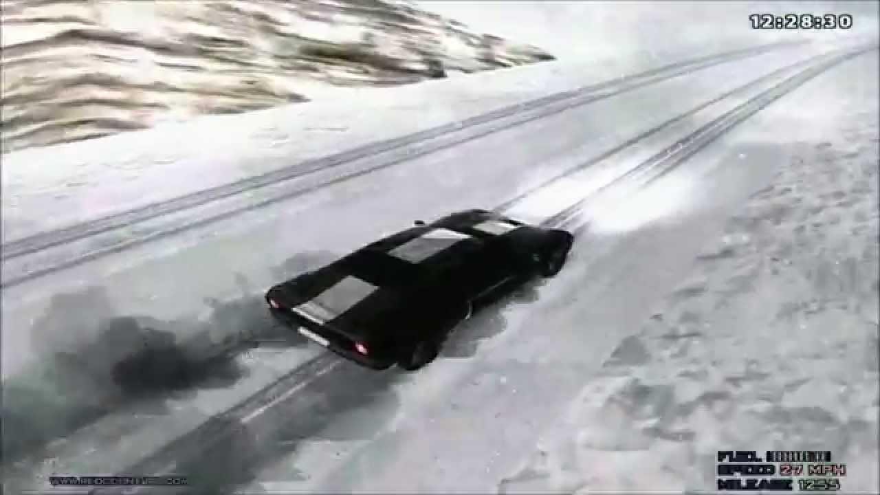 Скачать мод на снег