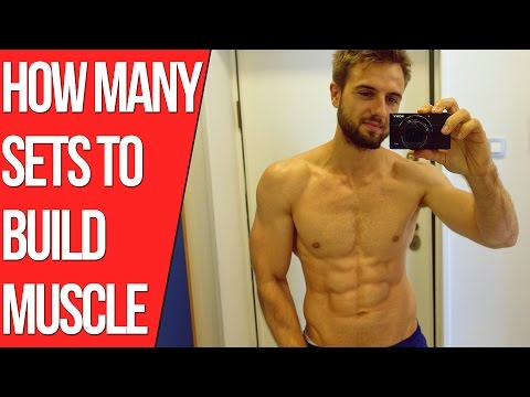 How Many Sets Should You Do To Build Muscle? (Backed By Science)
