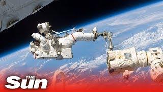 Nasa spacewalk to replace solar batteries LIVE