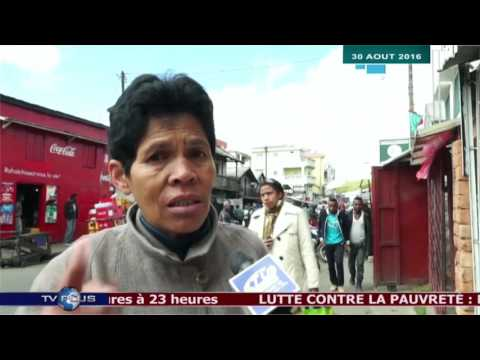 JOURNAL DU 30 AOUT 2016 BY TV PLUS MADAGASCAR