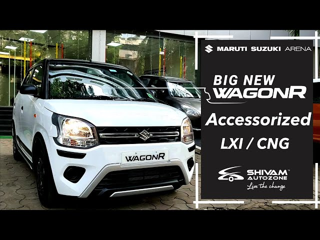 Maruti WagonR LXI CNG - Dual Tone Accessories |Shivam Autozone
