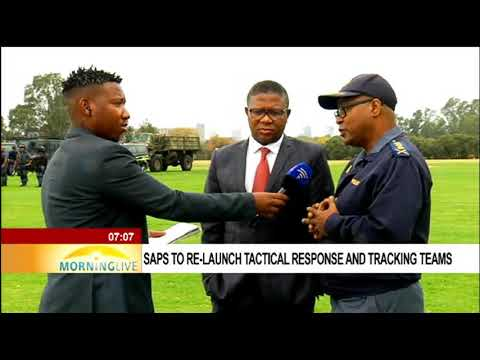 Mbalula on the re-launch Tactical Response Team and Tracking Teams