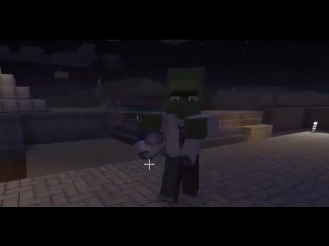 Minecraft XBox One Zurückverwandeln Eines Dorfbewohner Zombies - Minecraft dorfbewohner bauen hauser mod