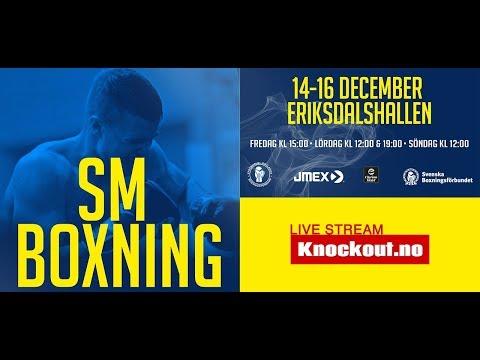 SM Boxning 2018 finaler ring B