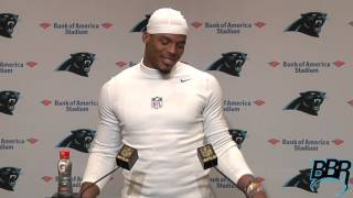 Cam Newton on Facing Seattle and Chosen's Car Seat