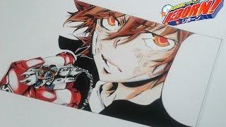 """Drawing """"Tsuna"""" Sawada Tsunayoshi -「 Katekyo Hitman REBORN!」"""