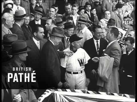 Ike Opens Baseball Season (1957)