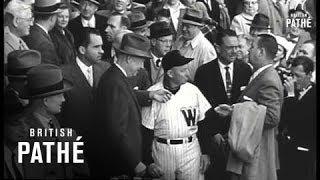 Ike Opens Baseball Season (1957)